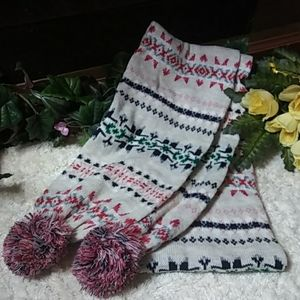 American Eagle Outfitters long winter scarf